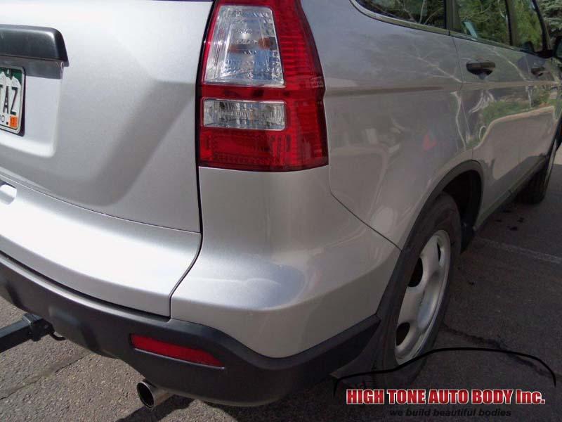 Service Body Tailgate : Honda cr v collision repair rear bumper tailgate