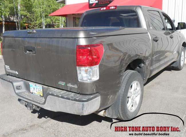Toyota truck bed repair panel