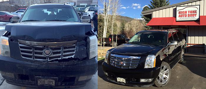 High Tone Auto Body: Cadillac Repair