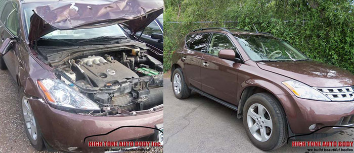 High Tone Auto Body: Nissan Repair