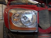 Head lamp polish after