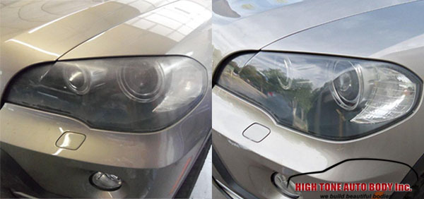 Before and After: how headlights should look like