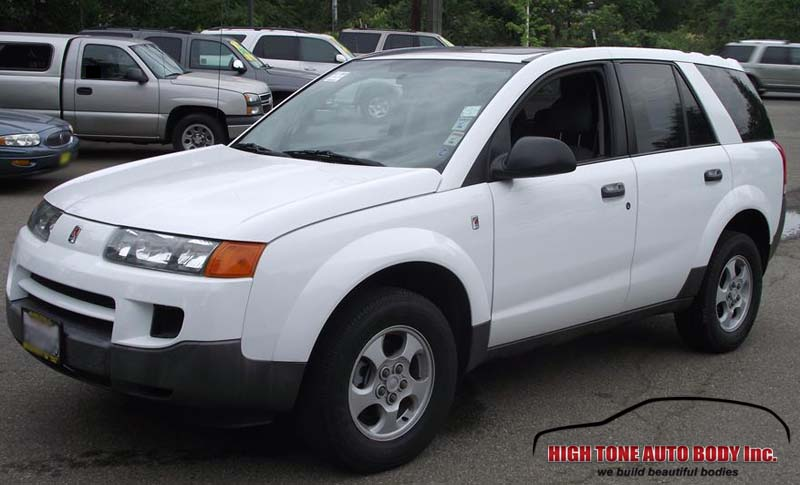 Paint repair on a Saturn VUE